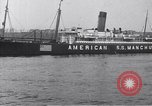 Image of SS Manchuria New York City USA, 1916, second 7 stock footage video 65675035173