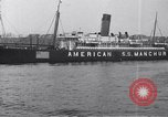 Image of SS Manchuria New York City USA, 1916, second 8 stock footage video 65675035173