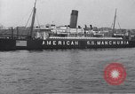 Image of SS Manchuria New York City USA, 1916, second 10 stock footage video 65675035173