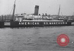 Image of SS Manchuria New York City USA, 1916, second 11 stock footage video 65675035173