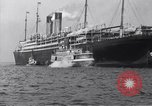 Image of SS Adriatic New York City USA, 1917, second 4 stock footage video 65675035176