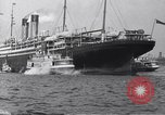 Image of SS Adriatic New York City USA, 1917, second 8 stock footage video 65675035176