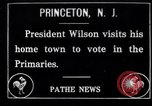 Image of Woodrow Wilson Princeton New Jersey USA, 1916, second 1 stock footage video 65675035177