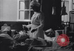 Image of Nurse tending to wounded American soldiers in  World War 1 United States USA, 1918, second 9 stock footage video 65675035179