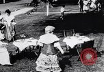 Image of tea gown party Hingham Massachusetts USA, 1917, second 4 stock footage video 65675035180