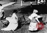 Image of tea gown party Hingham Massachusetts USA, 1917, second 5 stock footage video 65675035180