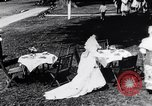 Image of tea gown party Hingham Massachusetts USA, 1917, second 6 stock footage video 65675035180