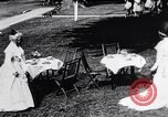 Image of tea gown party Hingham Massachusetts USA, 1917, second 8 stock footage video 65675035180