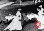 Image of tea gown party Hingham Massachusetts USA, 1917, second 9 stock footage video 65675035180