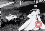 Image of tea gown party Hingham Massachusetts USA, 1917, second 10 stock footage video 65675035180