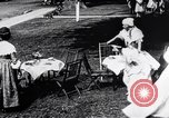 Image of tea gown party Hingham Massachusetts USA, 1917, second 11 stock footage video 65675035180