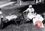 Image of tea gown party Hingham Massachusetts USA, 1917, second 12 stock footage video 65675035180