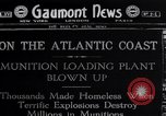 Image of Refugees from TA Gillespie Shell Loading plant explosion Perth Amboy New Jersey USA, 1918, second 1 stock footage video 65675035181