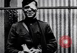 Image of Floyd Gibbons after wounding Paris France, 1918, second 2 stock footage video 65675035187