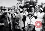 Image of Governor Lowden visits women farm workers during war Libertyville Illinois USA, 1917, second 5 stock footage video 65675035188