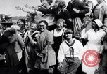 Image of Governor Lowden visits women farm workers during war Libertyville Illinois USA, 1917, second 6 stock footage video 65675035188