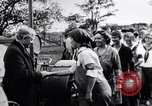 Image of Governor Lowden visits women farm workers during war Libertyville Illinois USA, 1917, second 11 stock footage video 65675035188