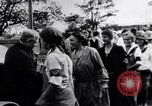 Image of Governor Lowden visits women farm workers during war Libertyville Illinois USA, 1917, second 12 stock footage video 65675035188