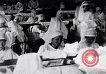 Image of Red Cross nurses during Spanish Flu epidemic Boston Massachusetts USA, 1918, second 3 stock footage video 65675035191