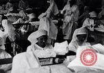 Image of Red Cross nurses during Spanish Flu epidemic Boston Massachusetts USA, 1918, second 5 stock footage video 65675035191