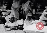 Image of Red Cross nurses during Spanish Flu epidemic Boston Massachusetts USA, 1918, second 8 stock footage video 65675035191