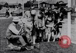 Image of American women Venice Beach Los Angeles California USA, 1917, second 2 stock footage video 65675035192
