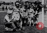 Image of American women Venice Beach Los Angeles California USA, 1917, second 3 stock footage video 65675035192