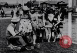 Image of American women Venice Beach Los Angeles California USA, 1917, second 4 stock footage video 65675035192