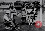 Image of American women Venice Beach Los Angeles California USA, 1917, second 6 stock footage video 65675035192