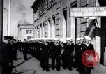 Image of Golden Gate Naval guards in World War 1 San Francisco California USA, 1917, second 2 stock footage video 65675035197