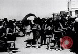 Image of American women Venice Beach Los Angeles California USA, 1917, second 6 stock footage video 65675035202