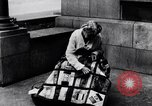 Image of Woman sews Allied flag blanket for Pershing birthday Chicago Illinois USA, 1917, second 7 stock footage video 65675035206