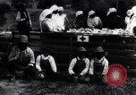 Image of Mono Native American Indian women make bandages for World War 1 effort Dunlap California USA, 1917, second 6 stock footage video 65675035207