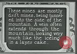 Image of miners United States USA, 1923, second 6 stock footage video 65675035230