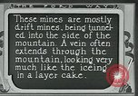 Image of miners United States USA, 1923, second 9 stock footage video 65675035230