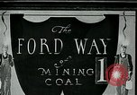 Image of Ford mines Wallins Creek Kentucky USA, 1924, second 1 stock footage video 65675035232