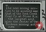Image of Ford mines Stone Kentucky USA, 1924, second 2 stock footage video 65675035235