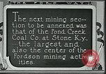 Image of Ford mines Stone Kentucky USA, 1924, second 3 stock footage video 65675035235