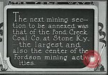 Image of Ford mines Stone Kentucky USA, 1924, second 4 stock footage video 65675035235