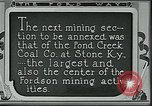 Image of Ford mines Stone Kentucky USA, 1924, second 5 stock footage video 65675035235