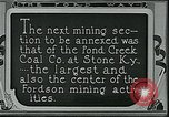 Image of Ford mines Stone Kentucky USA, 1924, second 6 stock footage video 65675035235