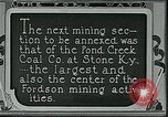Image of Ford mines Stone Kentucky USA, 1924, second 7 stock footage video 65675035235