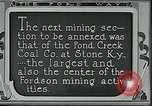 Image of Ford mines Stone Kentucky USA, 1924, second 8 stock footage video 65675035235