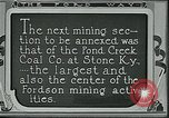 Image of Ford mines Stone Kentucky USA, 1924, second 9 stock footage video 65675035235