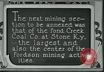 Image of Ford mines Stone Kentucky USA, 1924, second 10 stock footage video 65675035235