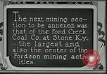 Image of Ford mines Stone Kentucky USA, 1924, second 12 stock footage video 65675035235