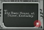 Image of Ford mines Stone Kentucky USA, 1924, second 2 stock footage video 65675035236