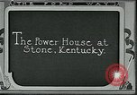Image of Ford mines Stone Kentucky USA, 1924, second 4 stock footage video 65675035236