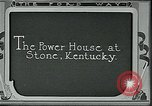 Image of Ford mines Stone Kentucky USA, 1924, second 7 stock footage video 65675035236