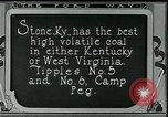 Image of Ford mines Stone Kentucky USA, 1924, second 9 stock footage video 65675035238